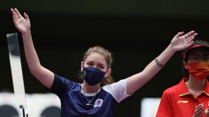 Виталина Бацарашкина на Олимпиаде в Токио установила два новых рекорда