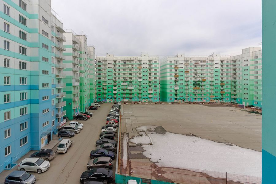 А вот микрорайон, в котором продают такие квартиры-подсобки