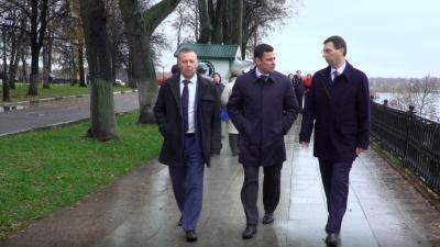 Первым делом помолился: в Ярославль приехал новый врио губернатора