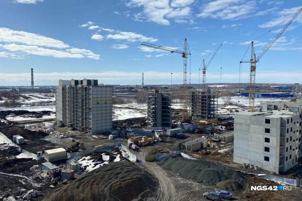 """В конце <nobr class=""""_"""">2020 года</nobr> в кузбасской новостройке купить квартиру в среднем можно было <nobr class=""""_"""">за 53 452 рубл</nobr>я за квадратный метр"""