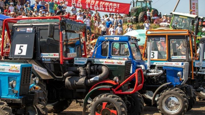 Единственные в России гонки на тракторах «Бизон-Трек-Шоу» снова перенесли из-за пандемии