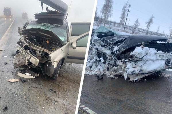Полицейские считают виновником водителя иномарки