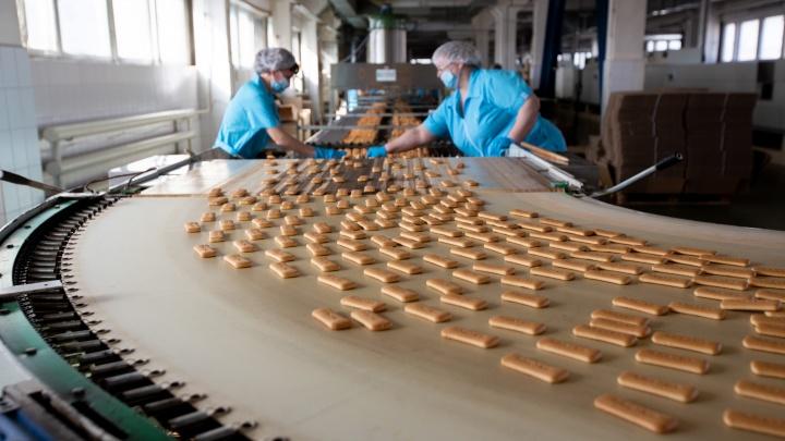 Вкус, знакомый с детства: как делают любимое тюменцами печенье «Плазма»
