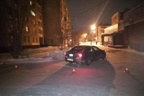 За рулем автомобиля находился 28-летний водитель