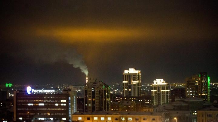 В Новосибирске объявили штормовое предупреждение из-за накопления в воздухе вредных примесей