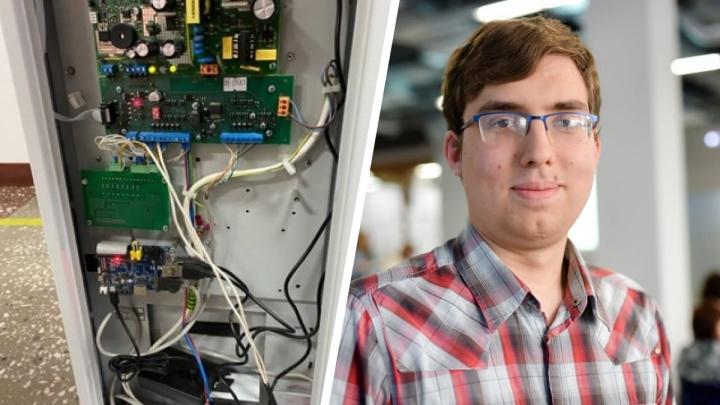 Студент из Красноярского края разработал систему бесконтактного термометра для турникетов