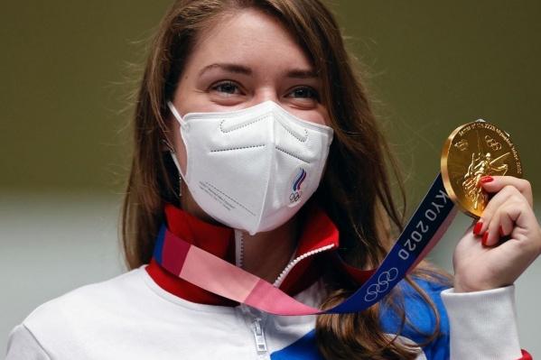 Теперь в копилке Виталины Бацарашкиной три медали из Токио — две золотые и одна серебряная