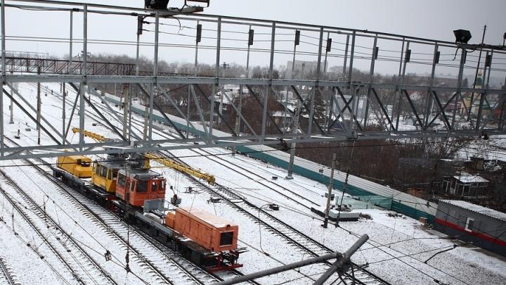 В Омской области с железнодорожных путей сошли три вагона
