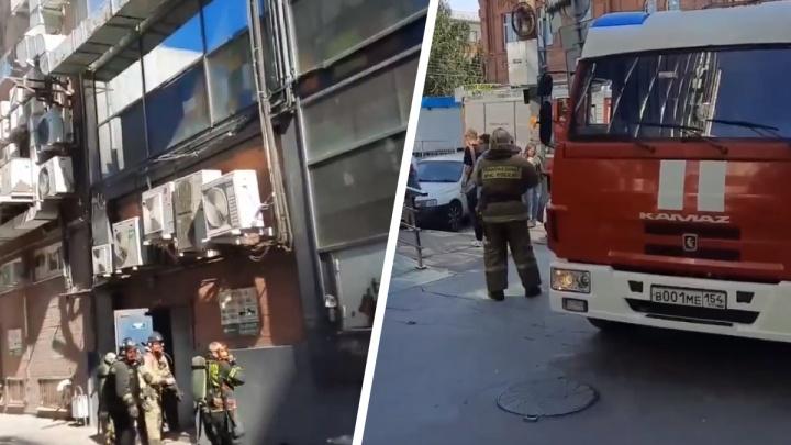 Из-за возгорания в «Бургер Кинге» в центре Новосибирска эвакуировали посетителей бизнес-центра