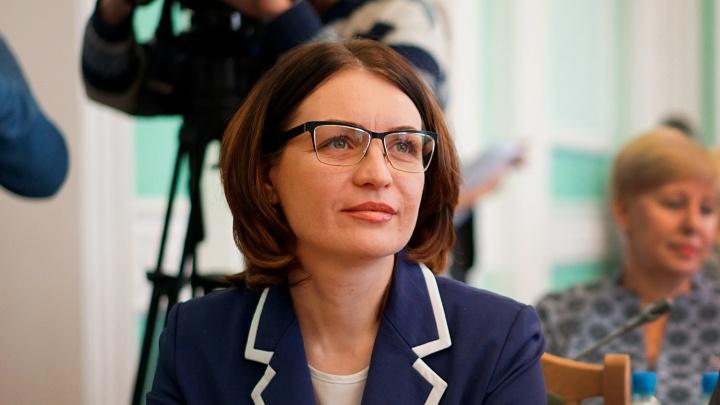 Мэр Омска подала заявление в избирком об уходе с поста