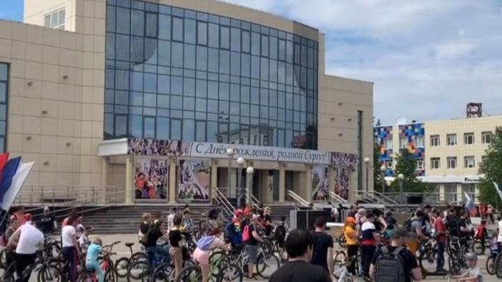 И стар, и млад: сургутяне приняли участие в городском велопробеге. Смотрите фото и видео