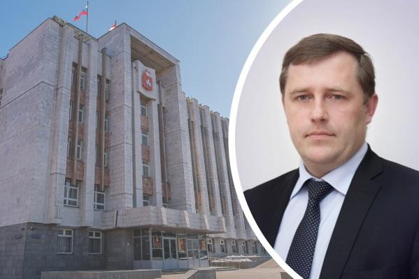 Руководителем объединенной администрации губернатора стал Александр Смертин