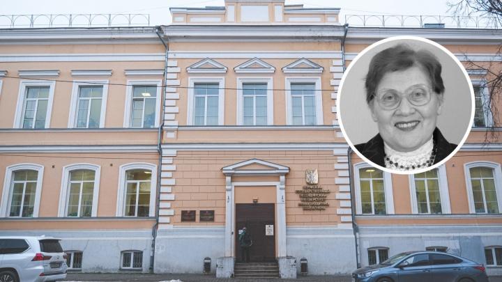 В Перми скончалась доктор наук, известный детский ортодонт Александра Еловикова