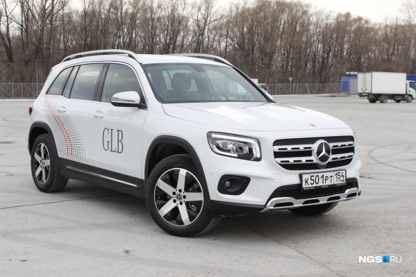 Mercedes-Benz GLB 2021 года