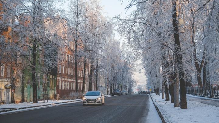 ГИБДД предупреждает: из-за морозов в Перми выросло количество ДТП с пешеходами