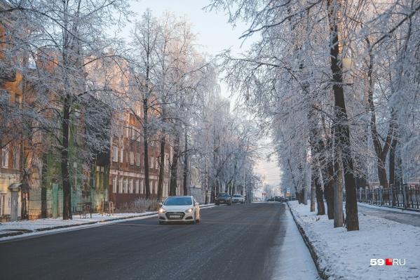 В морозы водителей призывают быть внимательнее на дорогах