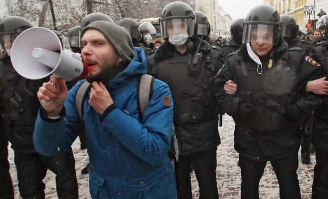 Нижегородского активиста Григория Тифанюка арестовали на 10 суток из-за митинга в поддержку Навального