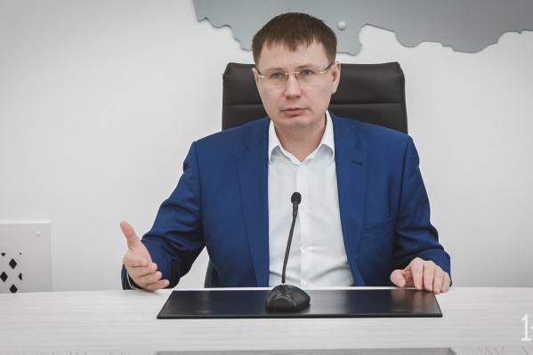 Ректор КемГУ Александр Просеков