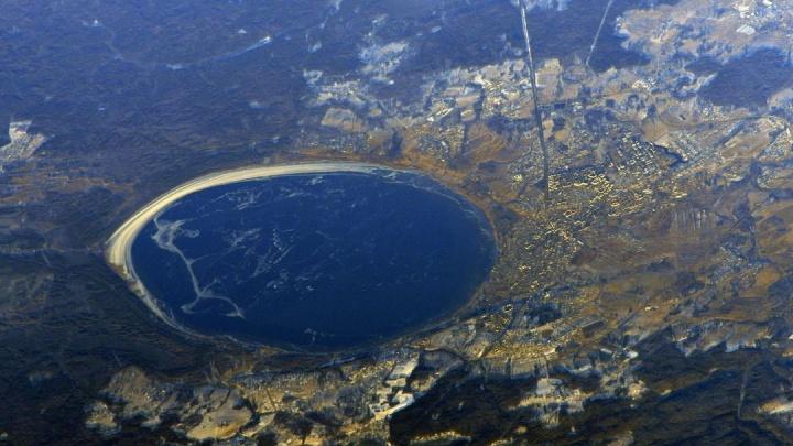 «Идеально круглое»: космонавт Сергей Кудь-Сверчков показал Плещеево озеро с борта МКС
