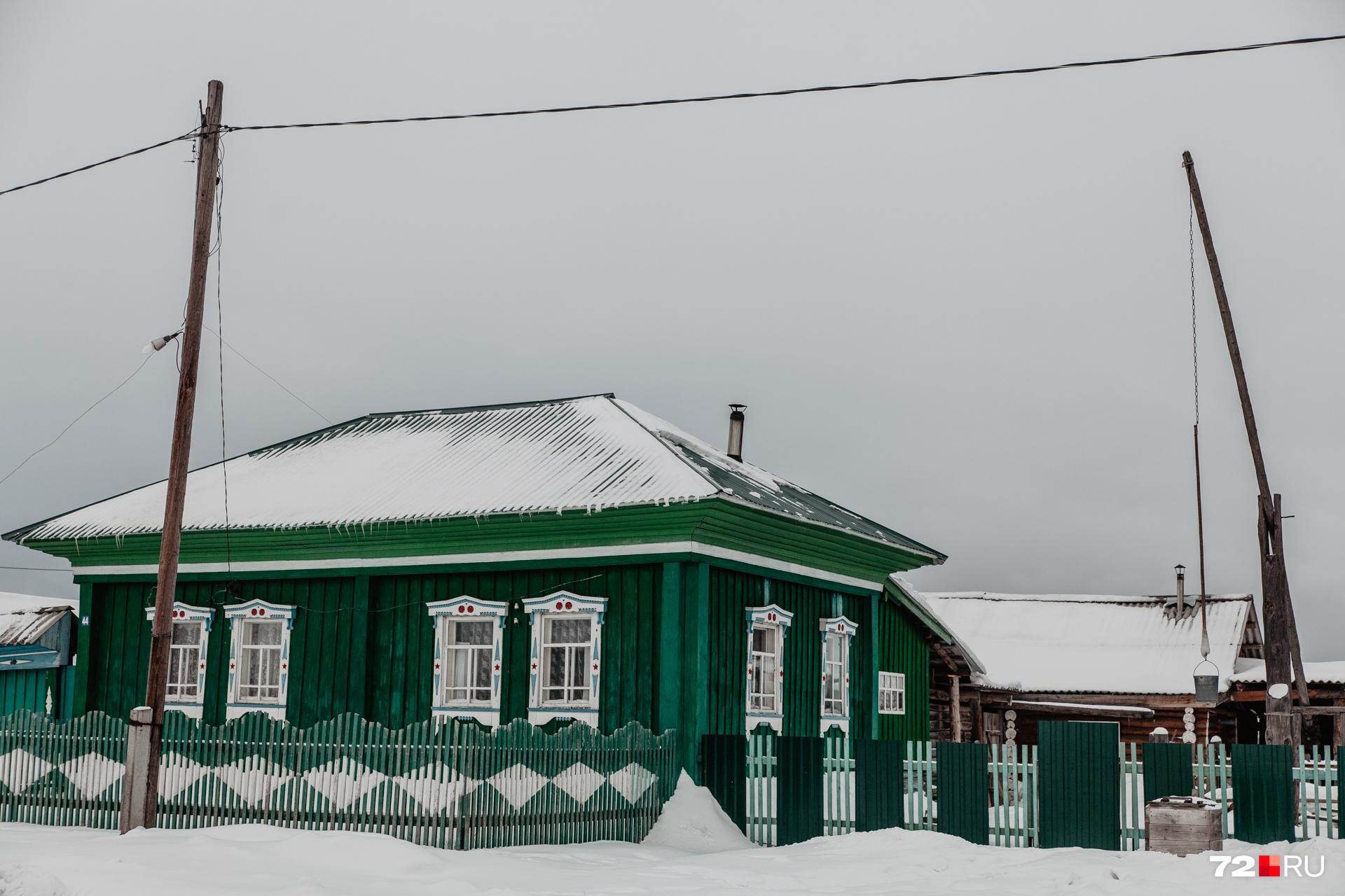 Так выглядит типичный дом в Кускургуле