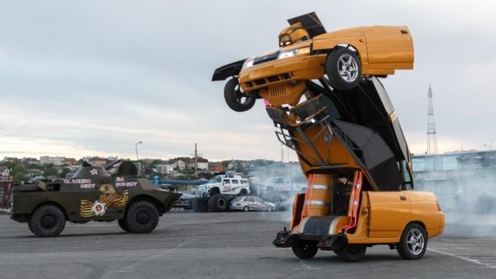 Как в кино: в Самаре покажут экстремальные трюки каскадеров за рулем