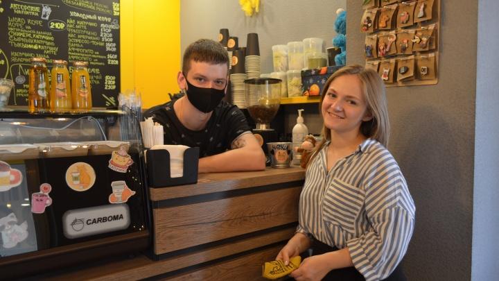 «Немножко рвем шаблоны». Как пара из Ростова бросила работу в офисе ради своей кофейни на окраине