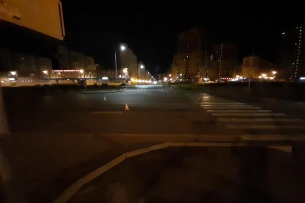ДТП произошло в 2019 году на улице Монтажников