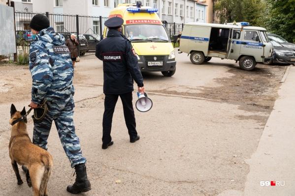 Фото сделано в день ЧП в университете: после устроенной студентом стрельбы власти и заговорили о повышении безопасности