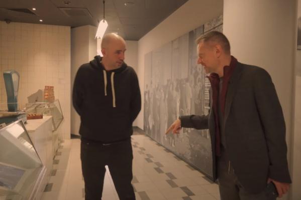 Журналист Алексей Пивоваров приехал в Екатеринбург и сходил на экскурсию по Ельцин-центру