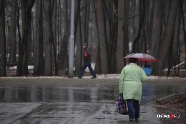 Дожди будут идти в течение почти всех выходных