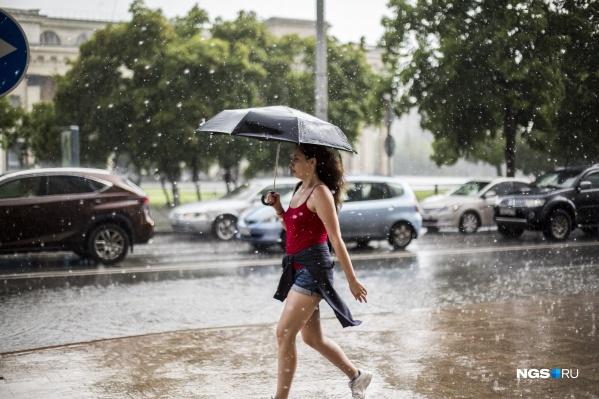 14 и 15 июля в городе ожидаются дожди, поэтому не забудьте взять с собой зонт
