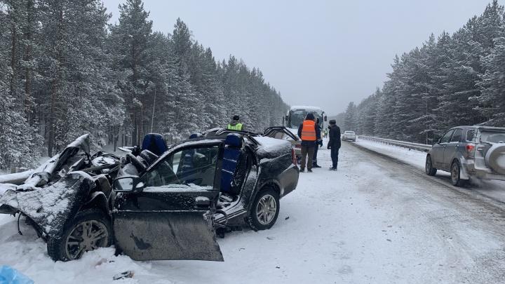Скончался второй пассажир, пострадавший в смертельной аварии под Режом