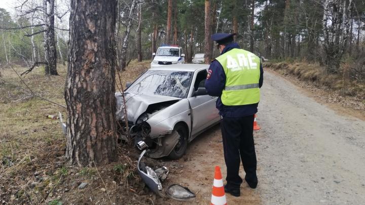 Сотрудники ГИБДД показали, как гнались за пьяным водителем в Каменске-Уральском