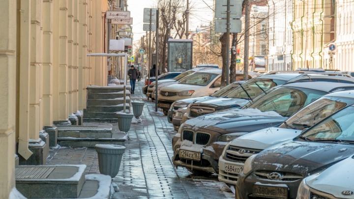 В Самаре проведут опрос о платных парковках