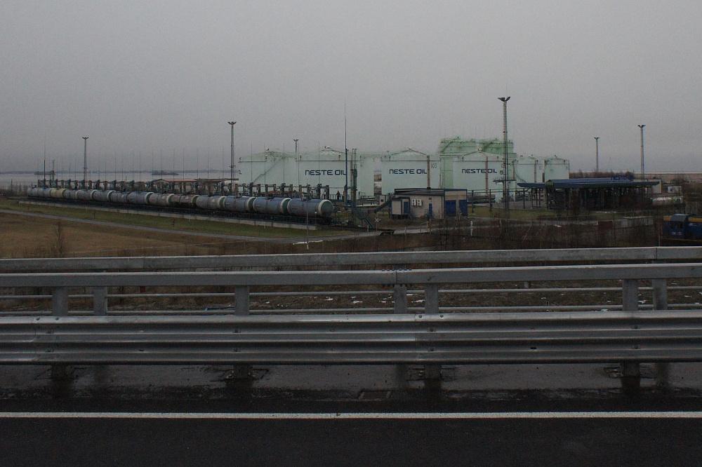 Порт «Бронка»<br /><br />автор фото Михаил Огнев / «Фонтанка.ру» / архив