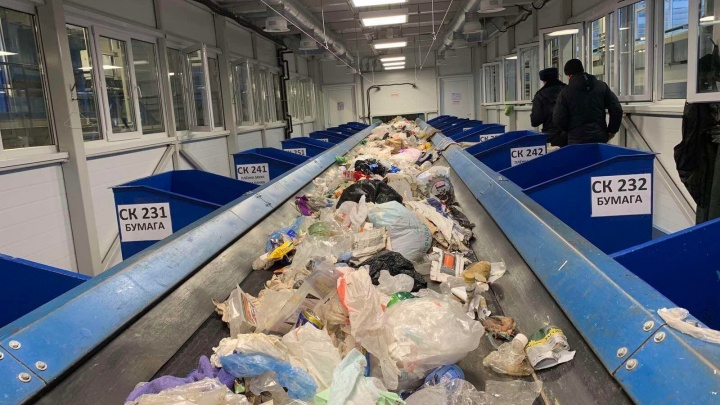 Тело младенца нашли на тобольском заводе по переработке мусора