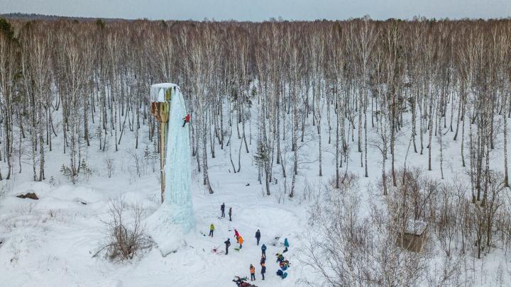 В Новосибирске альпинисты провели тренировку на испорченной водонапорной башне — 20 завораживающих фото