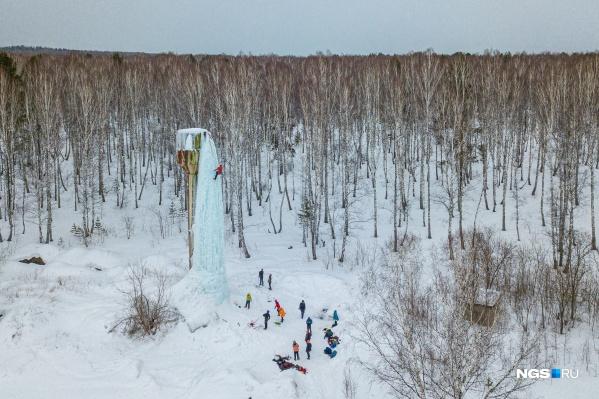 Башня давно заброшена и идеально подходит для тренировок альпинистов