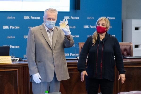 Лидер ЛДПР направил официальную жалобу Элле Памфиловой
