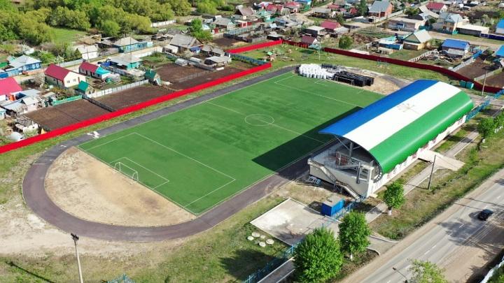 В Башкирии доведут до ума стадион-долгострой, из-за которого попал под следствие глава района