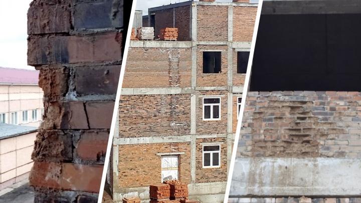 «А потом сайдингом прикроют!»: в Шарыпово достраивают роддом за 417 миллионов из треснутого кирпича