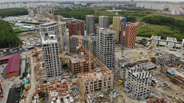 Почти Нью-Йорк, но, по правде, Тюмень. Смотрим на новые микрорайоны по Московскому тракту с высоты