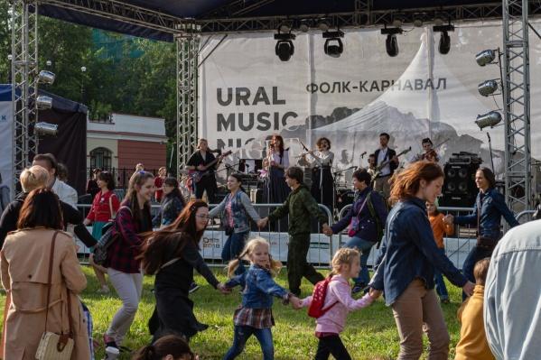 На фестивале в прошлом году из-за коронавируса от фолк-площадки пришлось отказаться