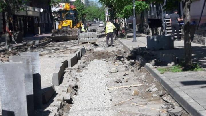 В Краснодаре открытие улицы Чапаева отложили на две недели