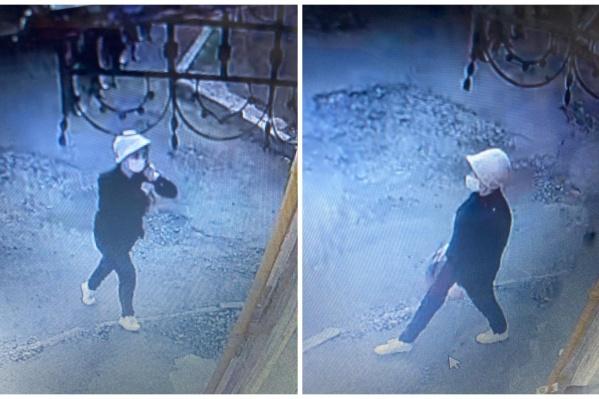 Мошенница попала на камеры видеонаблюдения