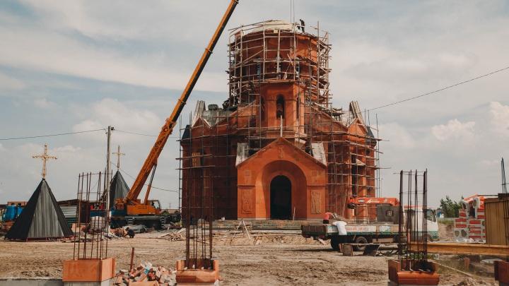 Фирма, которая реконструировала ДК «Нефтяник», достраивает первый в Тюмени армянский храм