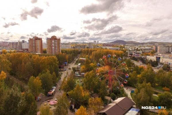 Завтра в Красноярске ожидается неприятный ветер