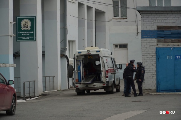 Часть пациентов отправили в краевую клиническую больницу