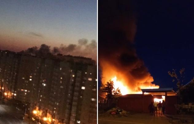 Напугавший тюменцев ночной пожар в частном секторе начался из-за печи