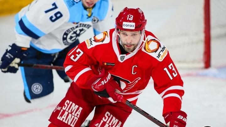 Капитан «Автомобилиста» Дацюк получил две награды КХЛ